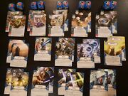 Star Wars Destiny Across The Galaxy - Lots W/ Legendary / Promo Dice And Cards
