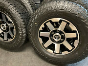 2021 Toyota 4runner Trd Off Road-tacoma Oem 17 Wheels - New Pirelli A/t Tires And