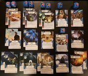 Star Wars Destiny Empire At War - Lots W/ Legendary / Promo Dice And Cards