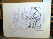 John Lennon Bed In For Peace Limited Edition Lithograph Beatles 1989