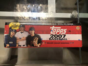 2007 Topps Baseball Complete Factory Set Sealed W/ 10 Pack Rc Variations