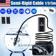 5.5mm Wifi Borescope Endoscope For Iphone Android Ios Pc Snake Inspection Camera