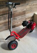 Go-ped Gtr Trail Ripper Red Gas Scooter 46cc Goped