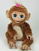 Hasbro Furreal Friends Cuddles My Giggly Monkey Girl 15 No Motion 2012 A1650