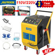 Dry Ice De-carbon Blasting Cleaner Engine Intake Throttle Valve Cleaning Machine