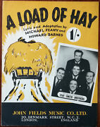 Five Smith Brothers A Load Of Hay By Michael Feahy And Howard Barnes Andndash Pub. 1950