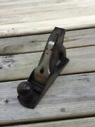 Antique Vintage Bailey Stanley Wood Plane No. 4 Woodworking Tools