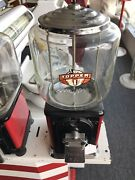 Vintage Topper 1 Cent Gumball Machine W/key - 10010