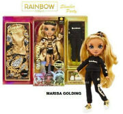 Rainbow High Slumber Party Marisa Golding Gold Fashion Doll And Playset Presale