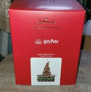 Hallmark 2021 Keepsake Sorting Hat Harry Potter Motion And Talking Sold Out