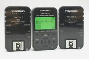 Yongnuo Yn622n Ii Kit Controller And 2-transceivers Nikon Excellent Used