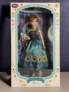 Frozen Fever Anna Limited Edition 17 Doll Disney Store Uk Seller Nrfb