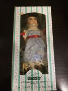 Seymour Mann Wizard Of Oz Dorothy Storybook Tiny Tots Porcelain Doll New In Box.
