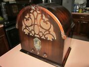 Kroehler - Viking Antique Deco Cathedral Radio May Not Be Fully Functional Parts