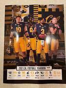 2021 California Cal Golden Bears Yearbook, Ticket And Magnetic Schedule
