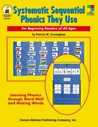 Systematic Sequential Phonics They Use For Beginning By Patricia M. Cunningham