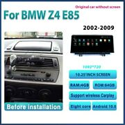10.25 Inch Android Car Radio For Bmw Z4 E85 2004-2015 64g Camera