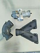 Rotax 503ul Parts Exhaust Manifold 878937 Elbow 973182 Bing 54 Carb