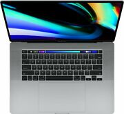 2019 Macbook Pro 16 Touch Bar Laptop 2.6 I7 16gb 512gb Ssd Gray 0 Cycle Count