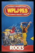 The Who ✯ Cinemasterpieces Wplj 95.5 Rock Music Poster New York Pete Townshend
