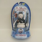 Rare New Memory Lane Sam The Snowman Rudolph The Red Nose Reindeer Action Figure
