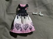 Monster High Cupid Dress Outfit And Earrings Accessory Td57l2c