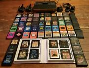 Atari 2600 Lot Console And Games Everything 100 Cleaned Tested And Working