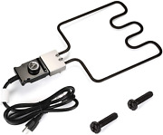 Wadeo Electric Smoker And Grill Heating Element Part With Adjustable Thermostat