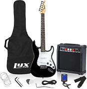Lyxpro Electric Guitar 39 Inch Complete Beginner Starter Kit Full Size With 20w