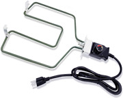 Universal Electric Smoker And Grill Heating Element With Adjustable Thermostat C