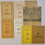 Daughters Of The Eastern Star Ephemera 1960 Book Program Onistagrawa Triangle Ny