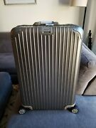 Rimowa Topas Titanium 29 Discontinued Size And Features