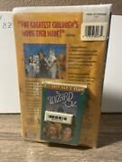 The Wizard Of Oz Vhs 1996factory Sealed Ultra Rare W/ Audio Cassette Oop Igs