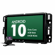 Cam+android 10 For Chevrolet Gmc 8 4+64g Ips Gps Car Radio Touch Screen Carplay