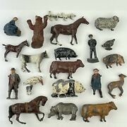 Vintage Job Lot Of Britains And Other Farmyard And Zoo Animals Etc., Panda Bear