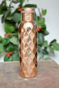 Diamond 700 Ml Copper Bottle Set Of 50 Fast Shipping In 24 Hour Item Located Usa