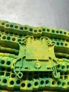 2-wire Protection Terminal Block 4mm2 Green-yellow N / 4 6m2 8116