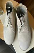 Loro Piana Ladies Cashew Butter Vars Suede Boots Booties Size 40