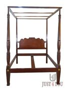 Baker Historic Charleston Queen Canopy Poster Bed