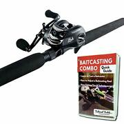Tailored Tackle Bass Fishing Baitcasting Combo 7 Ft 2 -piece | Casting Rods P...