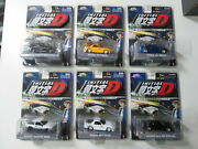 Jada Toys Initial D Complete Die Cast Collection Ae86 Nissan Mazda Evo 1/64 Rare