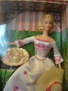 Collectable Barbie Doll Victorian Tea Boxed From 2002