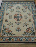Karastan Chinese 718 Wool Vintage American Carpet Area Rug Cleaned 4and0393 X 6and039