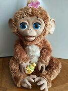 Furreal Friends Cuddles My Giggly Monkey Interactive Toy With Banana Bottle