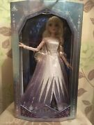 """Disney Elsa The Snow Queen 17"""" Limited Edition Doll Frozen 2 Brand New In Box.."""