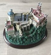 Great Castles Of The World Model/ornament - Lenox - Pena Palace In Portugal