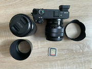 Sony Alpha A6300 24.2mp Digital Camera - Black With 10-18mm And 55-210mm