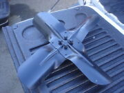 1966 1967 Olds Cutlass 442 F85 4 Blade Engine Cooling Fan And Spacer And Bolts Gm