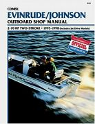 Evinrude/johnson 2-stroke Outboard Shop Manual 2-70 Hp . By Mark Jacobs Mint