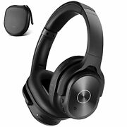 Zihnic Active Noise Cancelling Headphones 40h Playtime Wireless Bluetooth Hea...